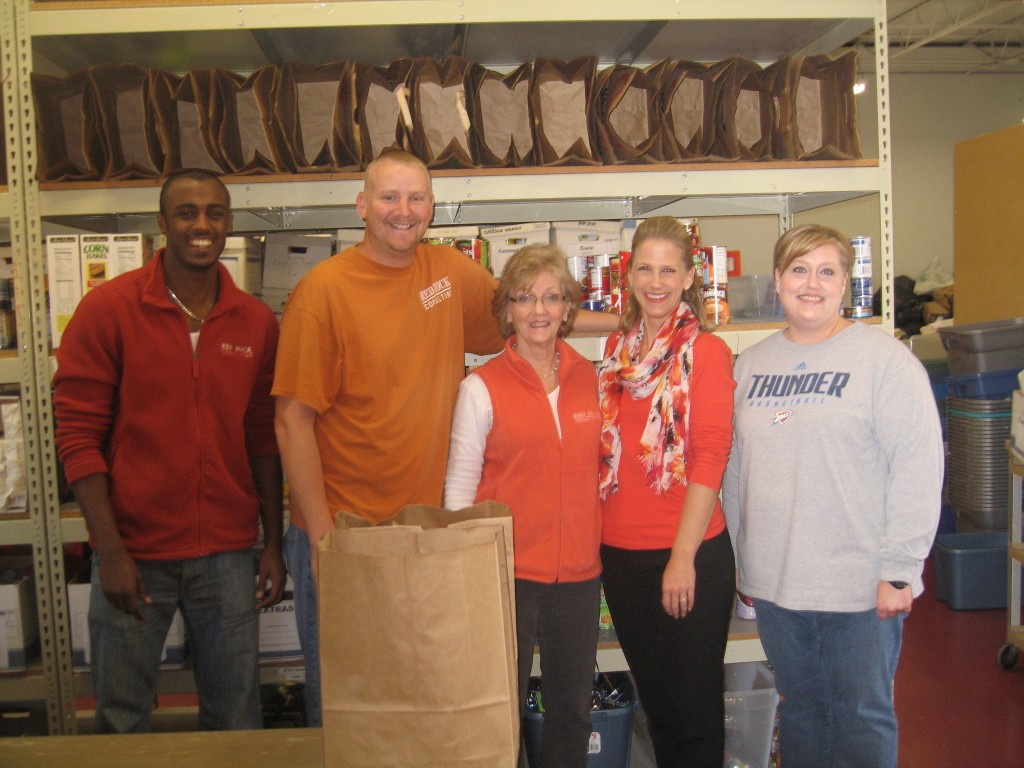 RRC Employees and Cheryl Woods, Volunteer Coordinator