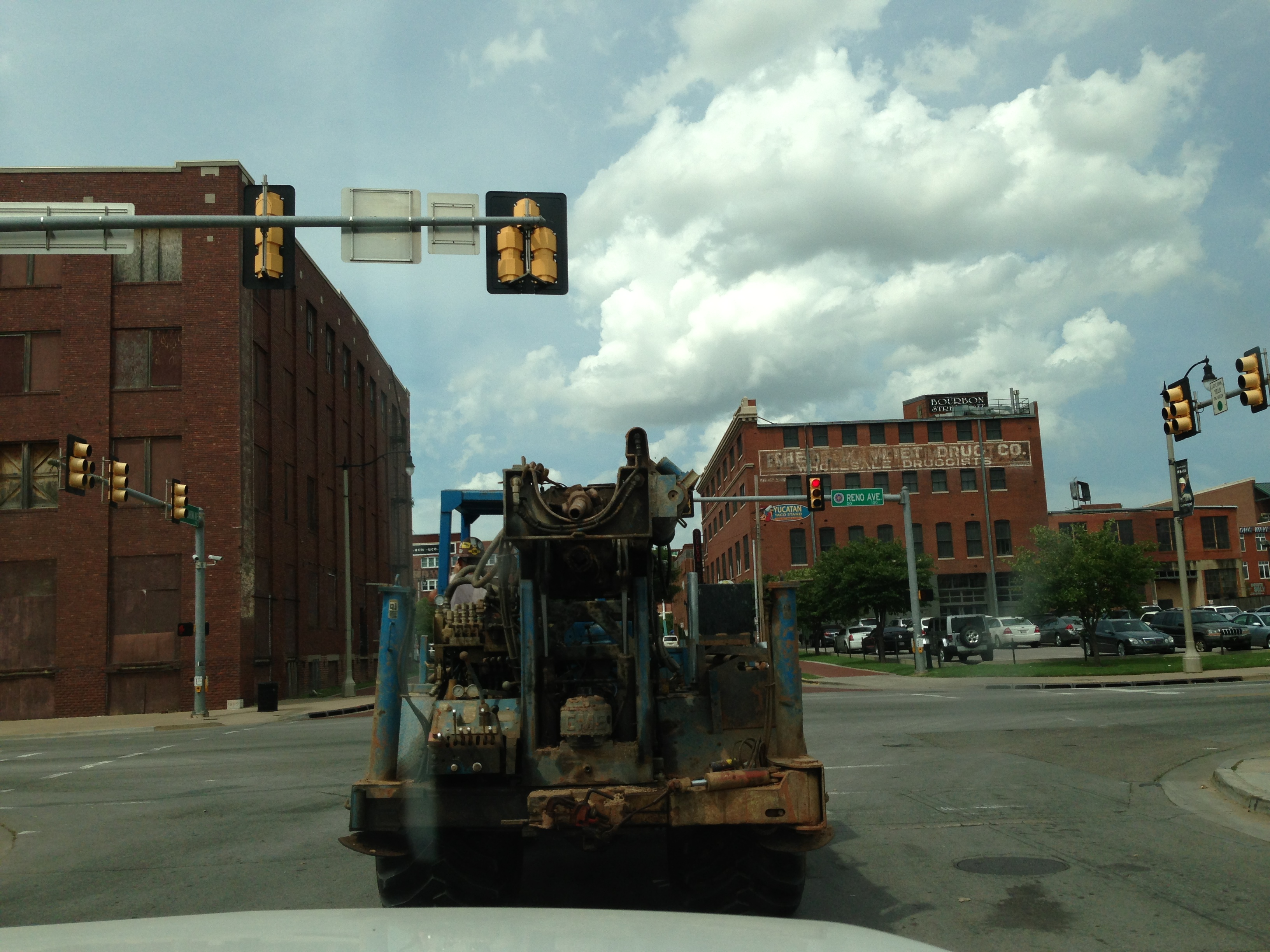 Drilling Rig in Bricktown