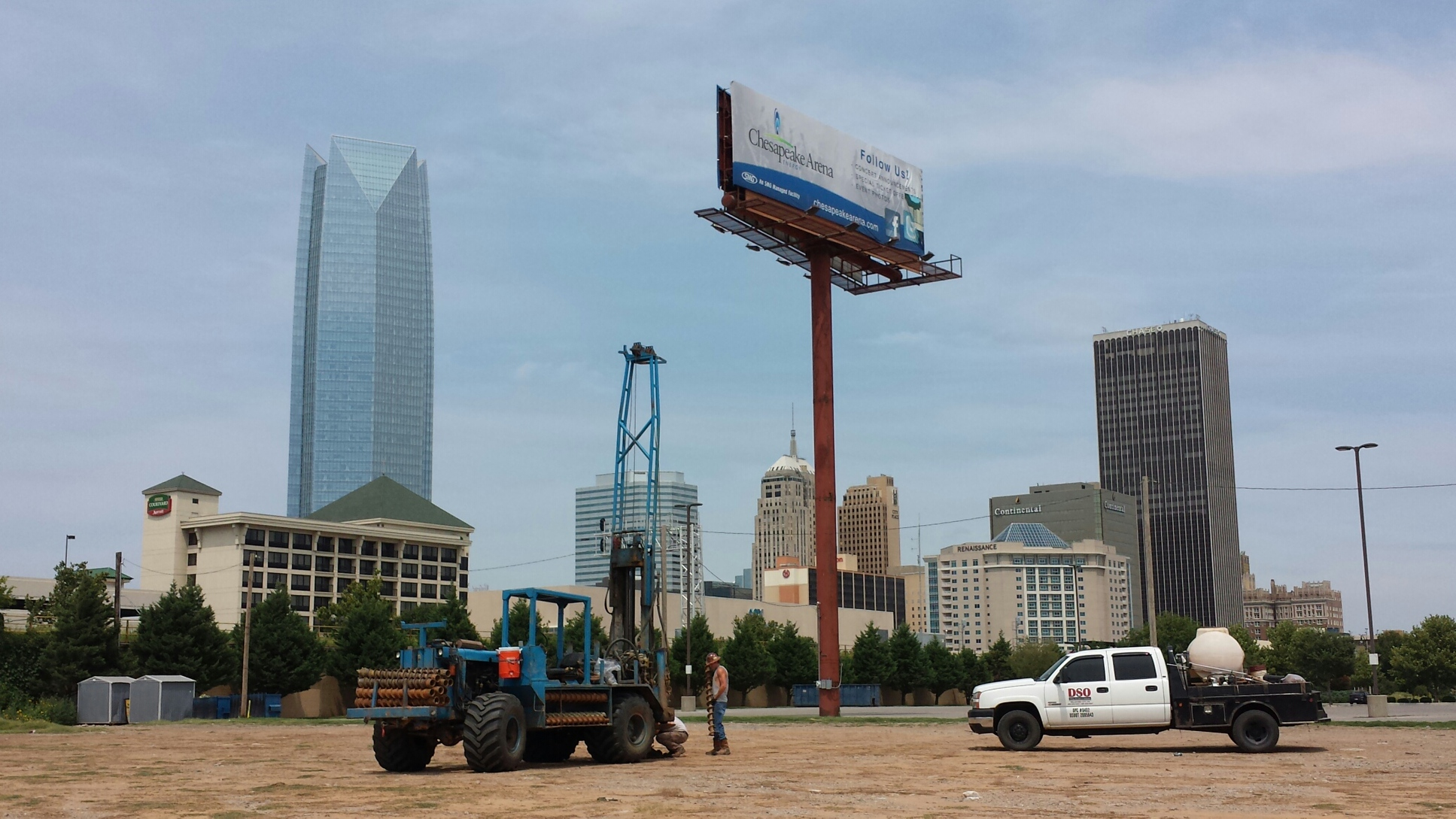 Drilling the OKC Boulevard, formerly I-40
