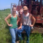 Kristi Bumpas (RRC) and Todd Simpson (DSO) at a project site in Tulsa, June 2010