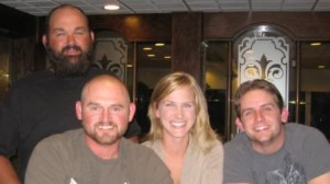 Brad Bettes (DSO), Todd SImpson (DSO), Kristi Bumpas (RRC) and Adam Bench (GP&E) in Lawton, Oklahoma