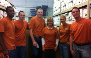 The RRC crew recently volunteered at the Hope Center in Edmond, Oklahoma