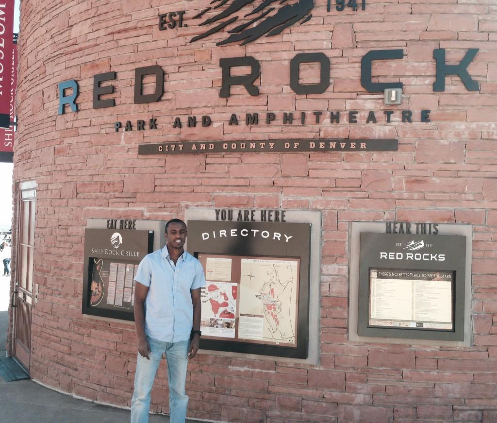 Robel finds Red Rock in Denver, CO
